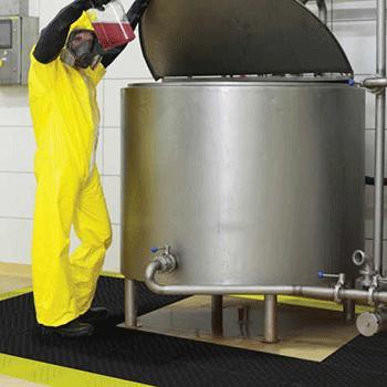 Industrieanwendung für Antirutschmatten