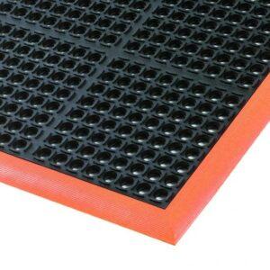 Gummimatte Safety Stance Anlaufprofil