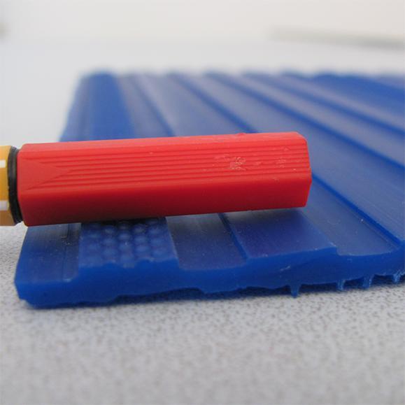 Sensorun blau Läufer Antirutsch Dicke
