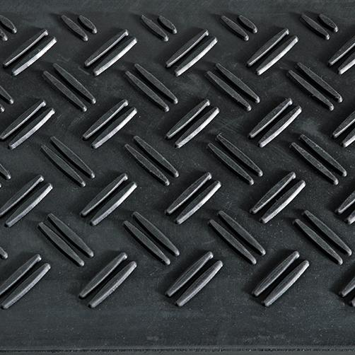 Treppenstufenmatte aus Gummi Profil
