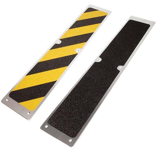 AluPlatten Antirutsch für Treppen, Gitterroste