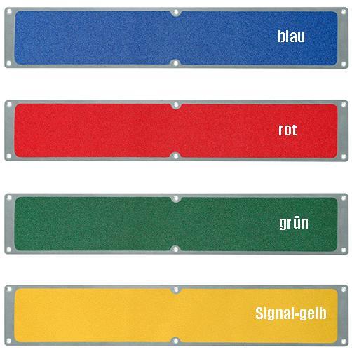 Aluminiumplatten Antirutsch kräftige Farben