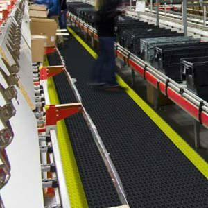 Anti-Ermüdungsmatten für trockene Arbeitsplätze