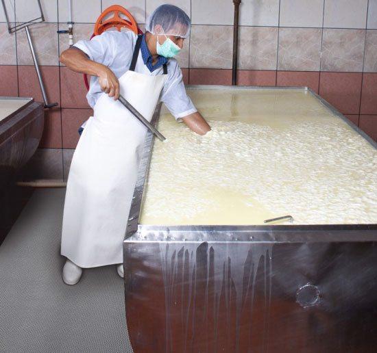Antirutschmatte Lebensmittelindustrie