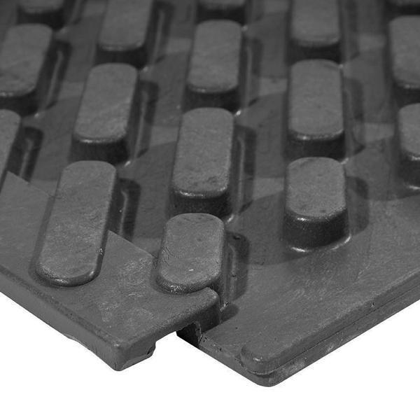 Eventplatte, Unterseite mit Nut und Feder