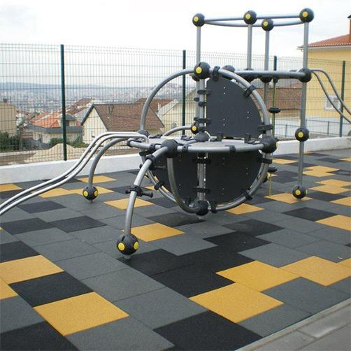 Fallschutzplatte 70 mm Spielplatz