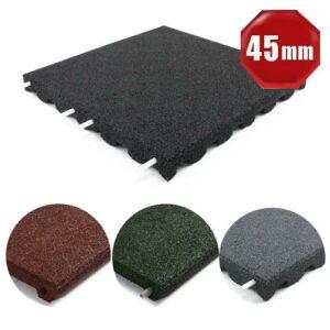 Fallschutzmatten mit 45 mm Dicke, 4 Farben