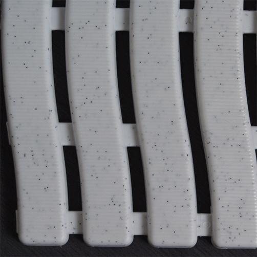 Barfussmatte Softstep weiß