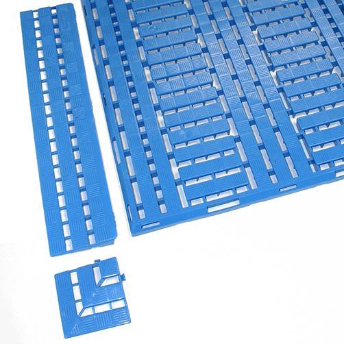 Fußbodenrost Work-Deck Platten., Auffahrleisten, Eckstücke
