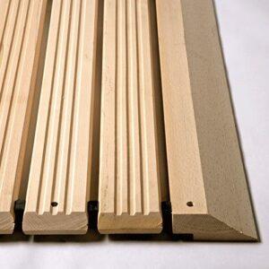 Holzrost mit Auffahrschräge