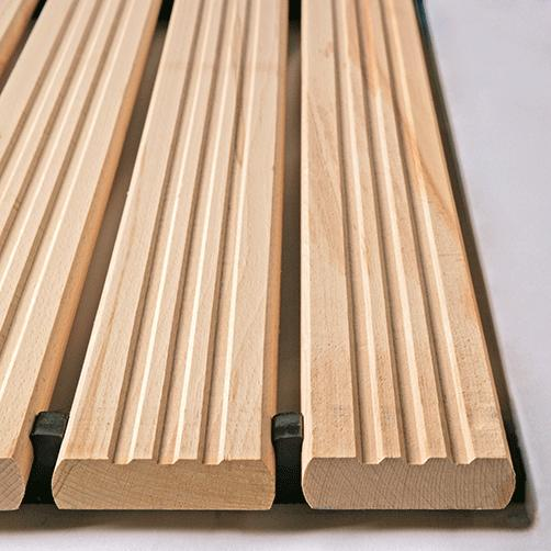 Holzrost hochbelastbar ohne Auffahrkeile