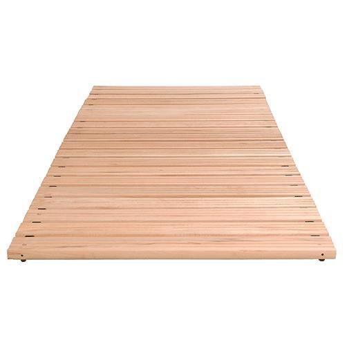 Holzrost als Bodenrost