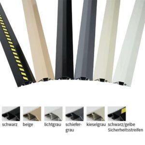 Alu-Kabelbrücken Farben