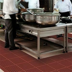 Arbeitsplatzmatten Lebensmittelindustrie, Küchen, Gastro