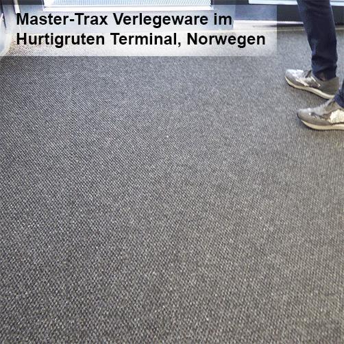 Master Trax Verlegeware als robuste Eingangsmatte