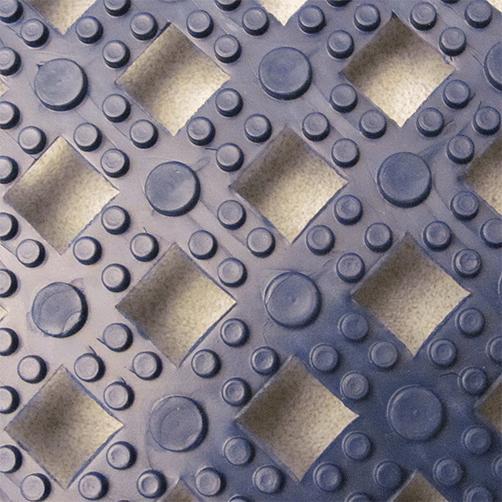 Stecksystem Modular Lok-Tyle Oberseite blau