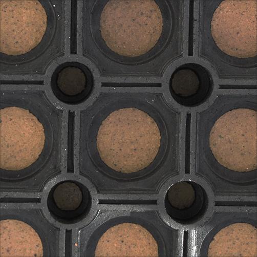 Ringgummimatte Standard, Oberseite Detail