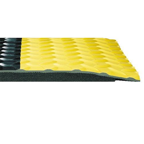 Zweilagige Arbeitsplatzmatte Cushion Trax Querschnitt