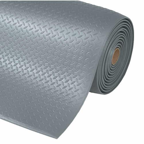 Anti-Ermüdungsmatte Diamond Soft grau