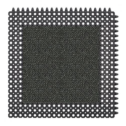 MasterFlex Gummimatte mit Schmutzfanginlay Swisslon Classic XT Granit-Grünlich