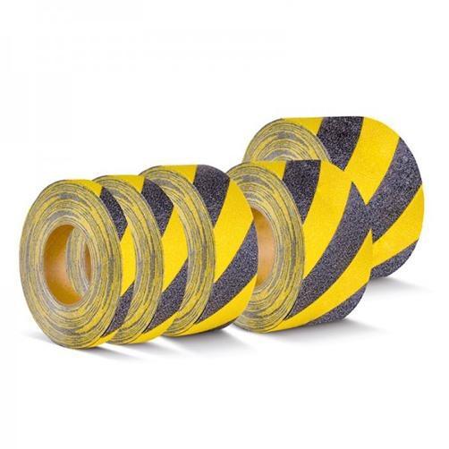 Warnmarkierung Schwarz-Gelb Rolle