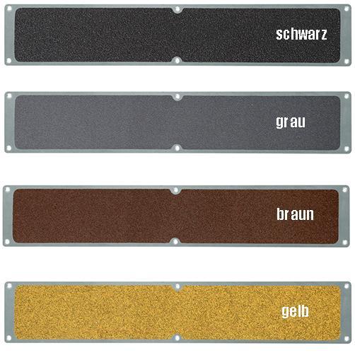 Aluminiumplatten-Antirutsch dezentere Farben