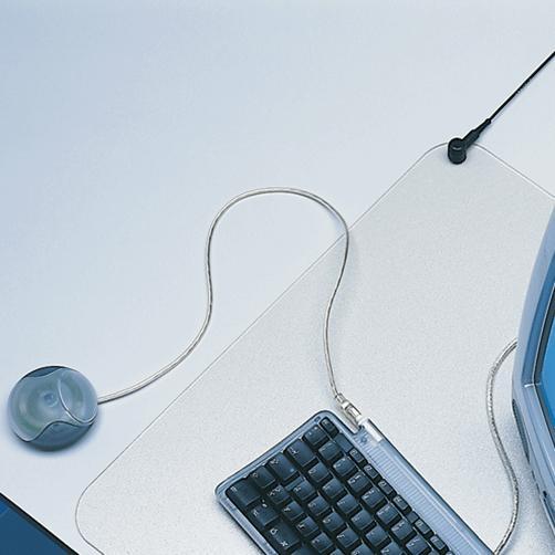 Schreibtischmatte antistatisch