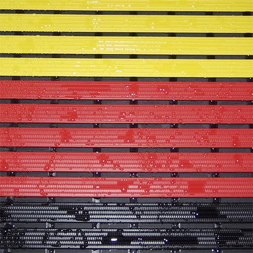 Duschrost 3 farbig für Nassbereiche