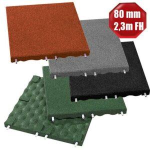Fallschutzplatten Euroflex 80 mm