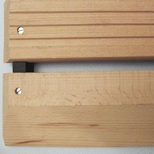 Holzrost mit Auffahrschräge von oben