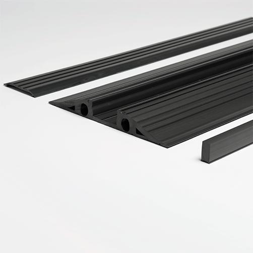 Vario-Kabelbrücke schwarz, Einzelteile