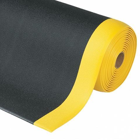 Anti-ermüdungsmatte Sof Tred schwarz-gelb warnmarkierung