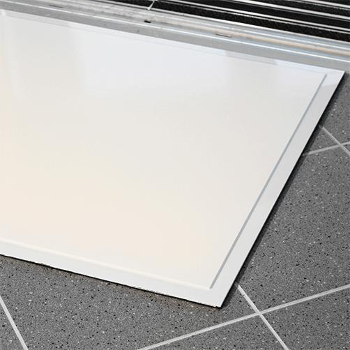 Reinraum-Klebematte Clean-Step auf PVC-Platte