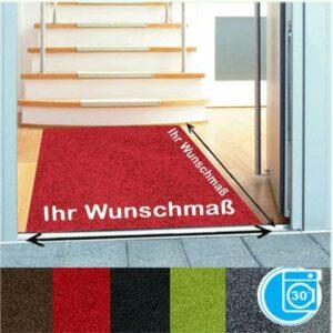 Eingangsmatte in knalligen Farben auf Wunschmass für ihren Eingangsbereich